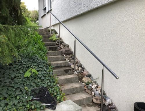 Aussenhandlauf in Nürensdorf