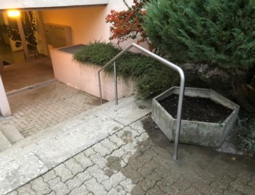 Aussenhandlauf in Wermatswil