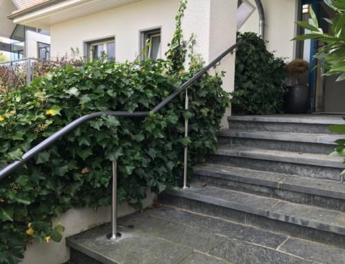 Aussenhandlauf in Winterthur